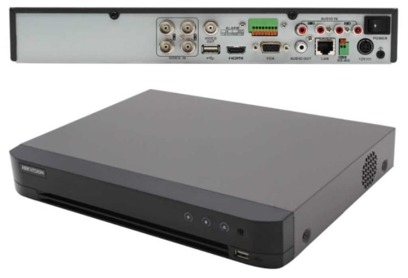 4 Kameralı HD TVI Güvenlik Kamera Sistemi 5