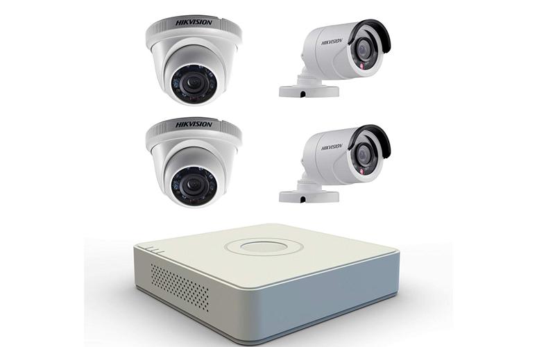 Ev İçi Güvenlik Kamera Sistemi